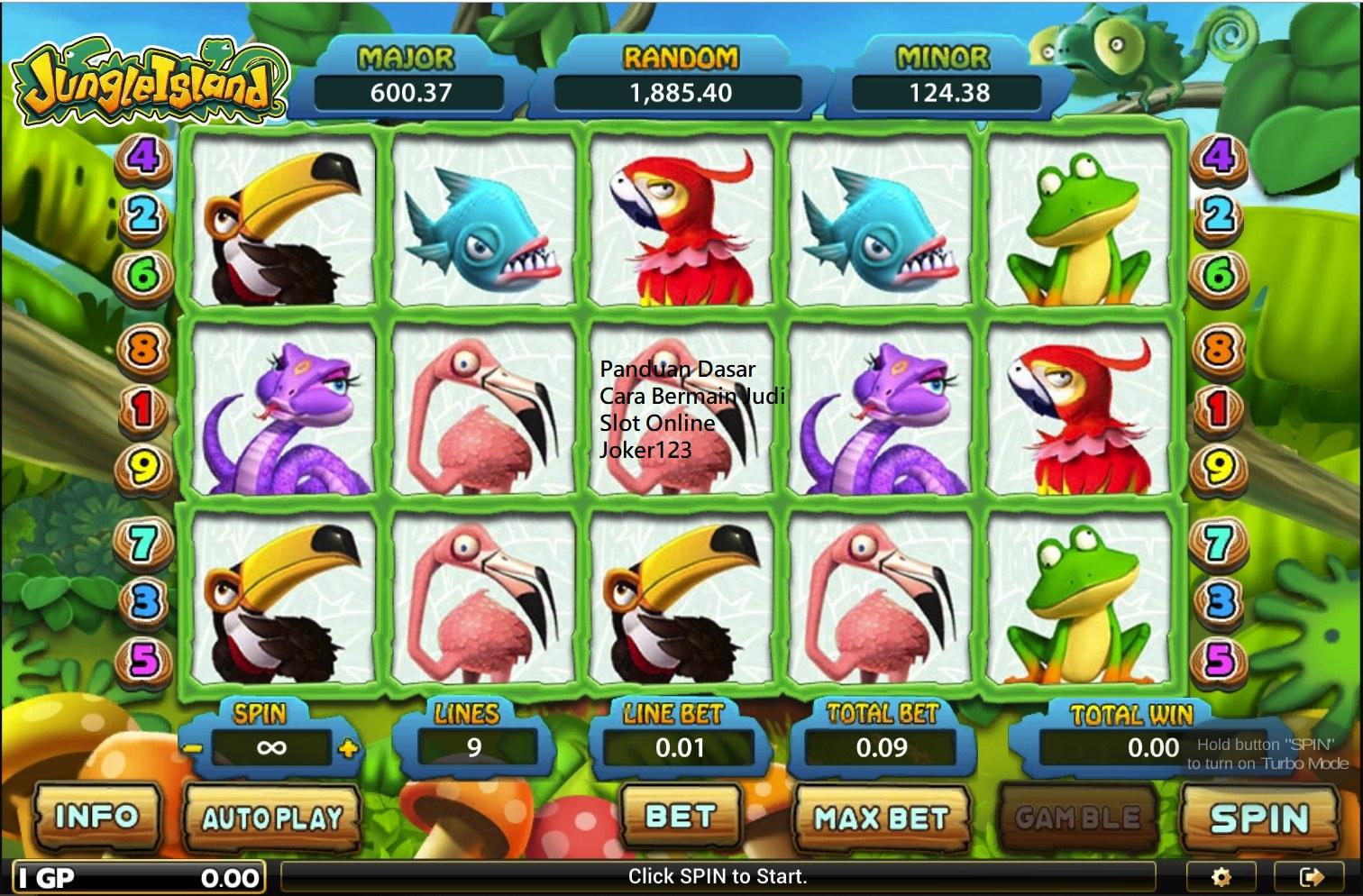 Panduan Dasar Cara Bermain Judi Slot Online Joker123