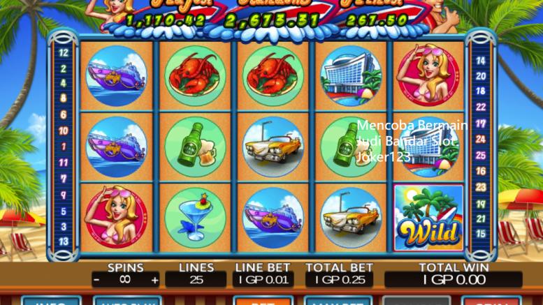 Mencoba Bermain Judi Bandar Slot Joker123
