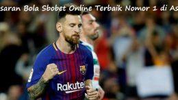 Pasaran Bola Sbobet Online Terbaik Nomor 1 di Asia